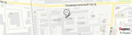 ЧерноземСтрой на карте Липецка