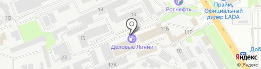 20 Тонн на карте Липецка