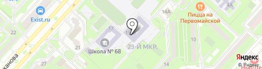 ДЮСШ №7 на карте Липецка