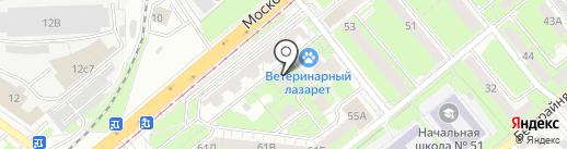 Имидж на карте Липецка