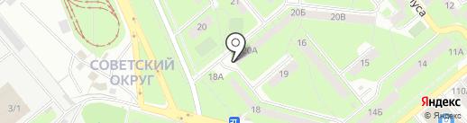 Почтовое отделение №42 на карте Липецка