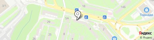 Электросвет на карте Липецка