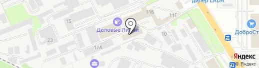 Уют Центр на карте Липецка