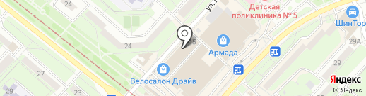 PickPoint на карте Липецка