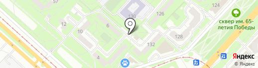Киоск по ремонту обуви и изготовлению ключей на карте Липецка