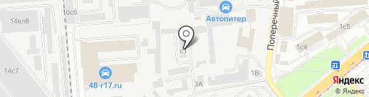 С.О.М. на карте Липецка