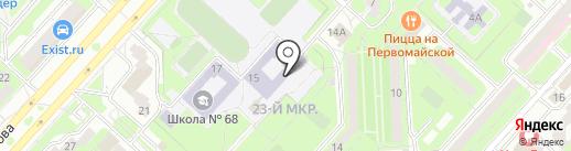 Приемная депутата Липецкого областного Совета депутатов по избирательному округу №4 Хрипункова В.В. на карте Липецка