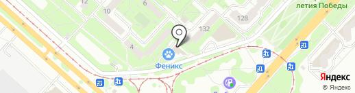 Отличник на карте Липецка