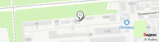 Цитадель на карте Липецка