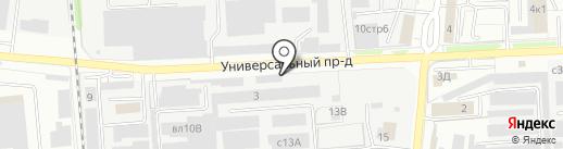КИСЛОРОДСЕРВИС-М на карте Липецка