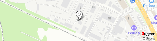 Альянс-К на карте Липецка