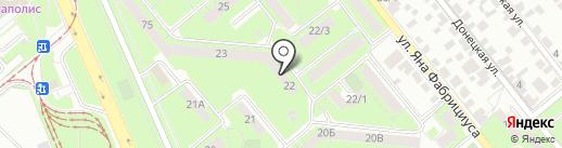 Подруга на карте Липецка