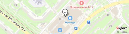 DNS на карте Липецка
