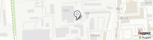 Метпром на карте Липецка