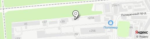 Бликфанг на карте Липецка