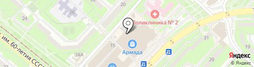 ВАУ! Корн-дог! на карте Липецка