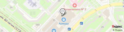 Avon на карте Липецка
