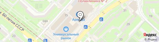Мафия на карте Липецка