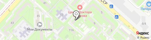 Адвокатский кабинет Белобородова А.А. на карте Липецка