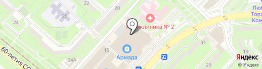 Магазин оловянных сувениров и нумизматики на карте Липецка