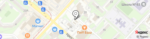 Пивная таверна на карте Липецка