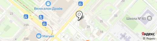 АВС-электро на карте Липецка