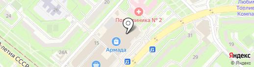 iPonte на карте Липецка