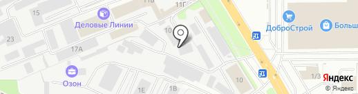 ДвижОк на карте Липецка
