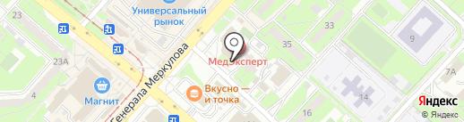 Mega48 на карте Липецка
