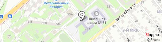 Общественная приемная депутата Липецкого городского совета Аленина В.А. на карте Липецка