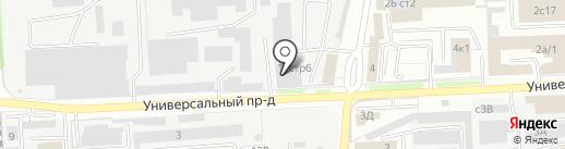 Дезис Липецк на карте Липецка