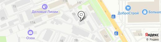 КАКТУС на карте Липецка