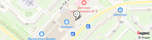 Мастерская по изготовлению и ремонту ювелирных изделий на карте Липецка