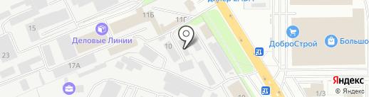 Non-stoP на карте Липецка