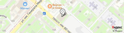 Qiwi Post на карте Липецка