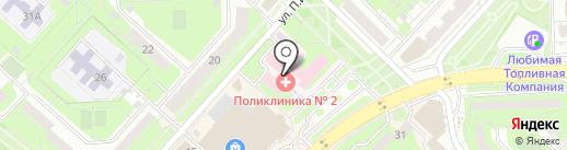 Центры здоровья на карте Липецка