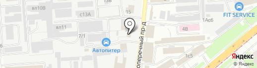 Автостиль на карте Липецка