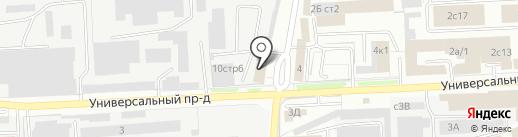 Липецкдоравтоцентр на карте Липецка