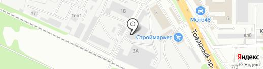 REZINA.NET на карте Липецка