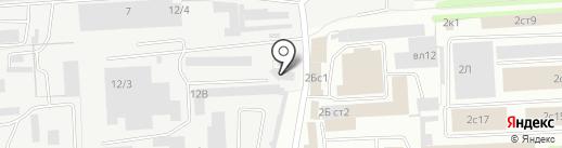 Гранит на карте Липецка