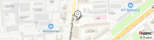 Автолидер на карте Липецка