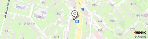 Почтовое отделение №35 на карте Липецка