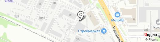 Автоспец на карте Липецка