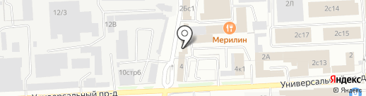 Шашлычный домик на карте Липецка