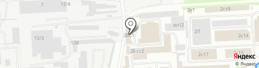 Шинный центр на карте Липецка