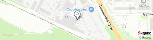 ЛПД на карте Липецка