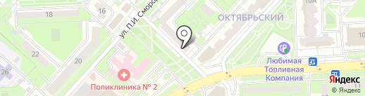 Luxury на карте Липецка