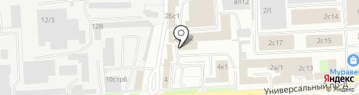 Паллеттрейд на карте Липецка