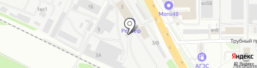 Простосервис на карте Липецка
