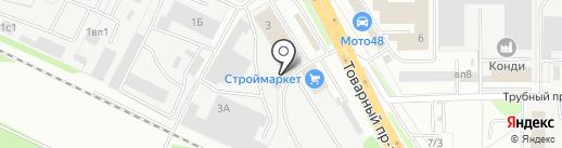 Autobox48 на карте Липецка